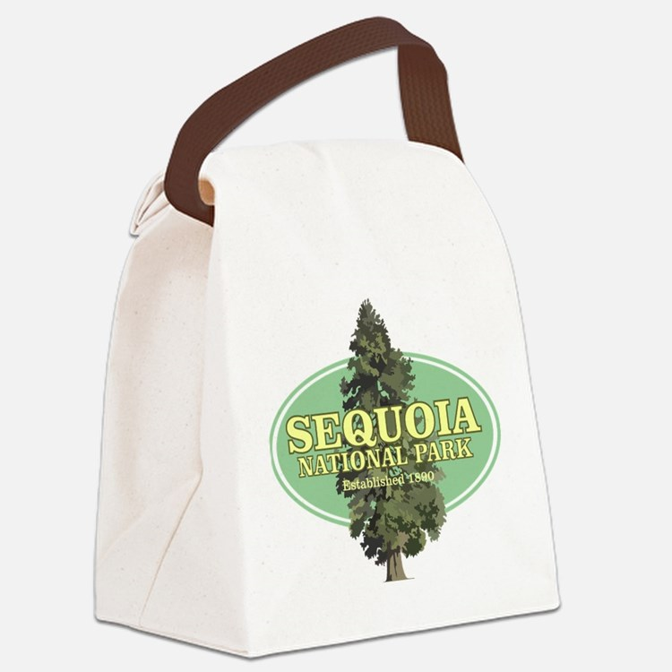 Sequoia National Park Canvas Lunch Bag