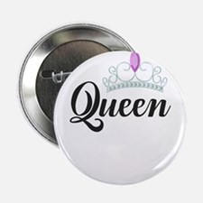 "king and queen couple 2.25"" Button"