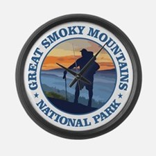 Great Smoky Mountains Large Wall Clock