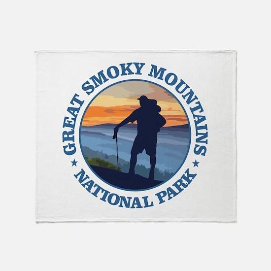 Great Smoky Mountains Throw Blanket