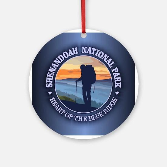 Shenandoah National Park Ornament (Round)