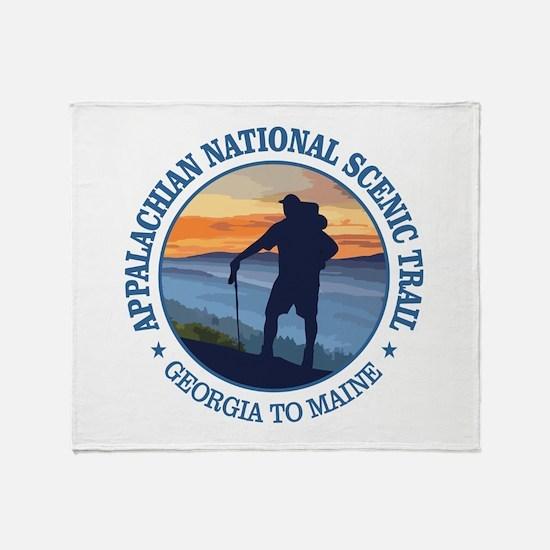 Appalachian Trail (rd)3 Throw Blanket