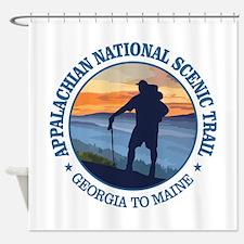 Appalachian Trail (rd)3 Shower Curtain