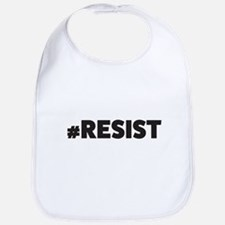 Resist_blk Baby Bib