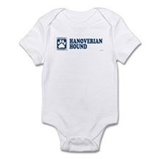 HANOVERIAN HOUND Infant Bodysuit