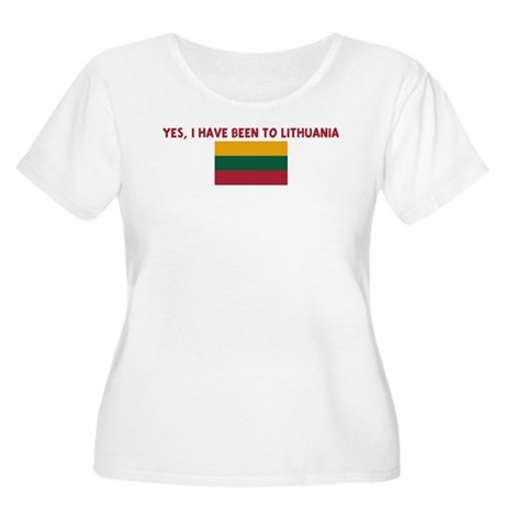 YES I HAVE BEEN TO LITHUANIA Women's Plus Size Sco