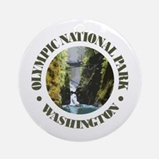 Olympic NP Round Ornament