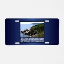 Acadia 3 Aluminum License Plate