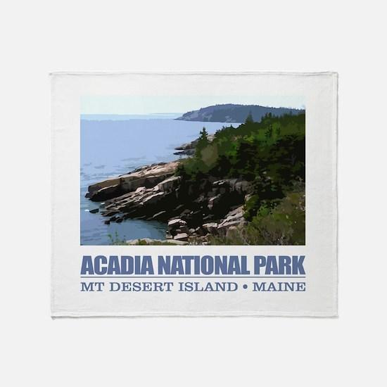 Acadia 3 Throw Blanket