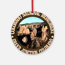 Colorado National Monument Round Ornament