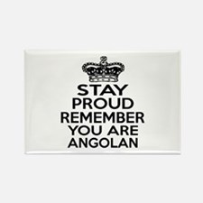 Stay Proud Remember You Are Angol Rectangle Magnet