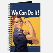 Rosie the Riveter We Can Do It Journal