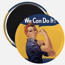 Rosie the Riveter We Can Do It Magnet