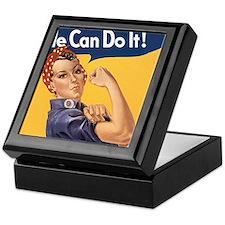 Rosie the Riveter We Can Do It Keepsake Box