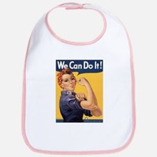 Rosie the Riveter We Can Do It Bib