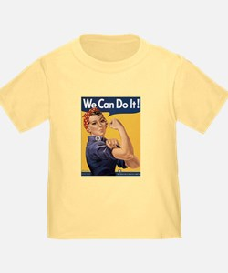 Rosie the Riveter We Can Do It T