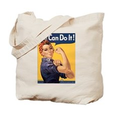 Rosie the Riveter We Can Do It Tote Bag