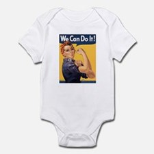 Rosie the Riveter We Can Do It Infant Bodysuit