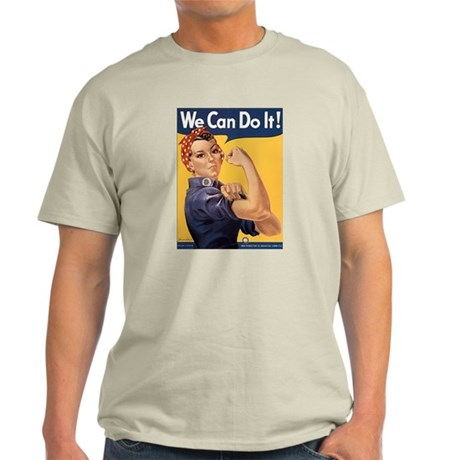 Rosie the Riveter We Can Do It Light T-Shirt