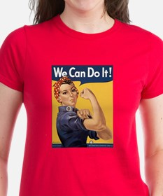 Rosie the Riveter We Can Do It Tee