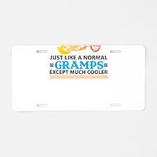 Biker Gramps... Aluminum License Plate