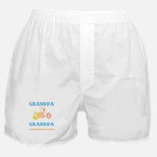 Biker Grandpa... Boxer Shorts