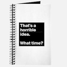 Horrible idea Journal