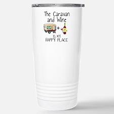 Cute Go to my happy place Travel Mug