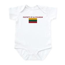 PROPERTY OF A LITHUANIAN Infant Bodysuit