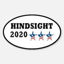 Anti-Trump Hindsight 2020 Decal
