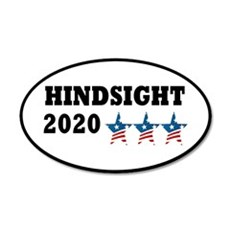 Anti-Trump Hindsight 2020 Wall Decal Sticker