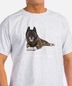 Brindle Akita Photo T-Shirt