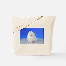 Cleopatra - Blue Point Ragamuffin Kitten Tote Bag