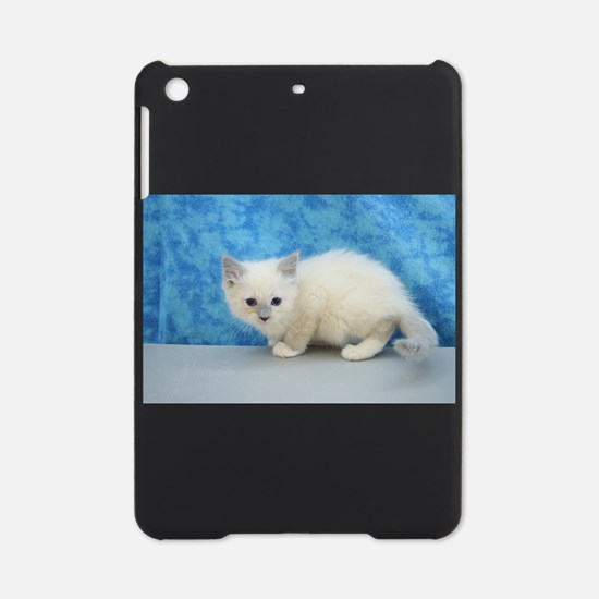 Comet - Blue Mitted Ragdoll Kitten iPad Mini Case