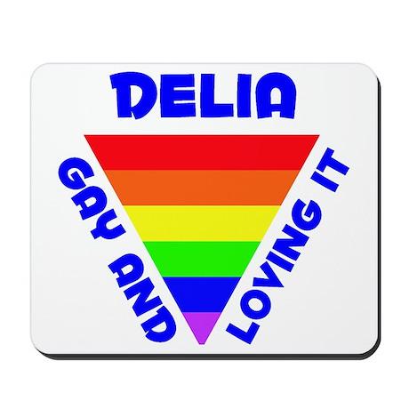 Delia Gay Pride (#005) Mousepad