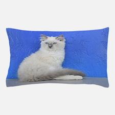 Isabelle - Blue Mitted Ragdoll Kitten Pillow Case