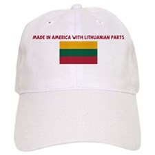 MADE IN AMERICA WITH LITHUANI Baseball Cap