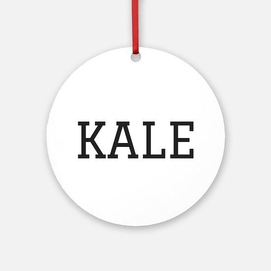 Kale Round Ornament