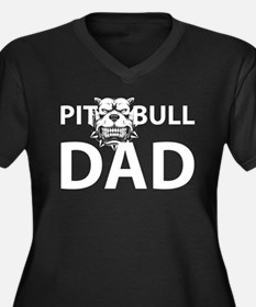 Pit Pull Dad Plus Size T-Shirt