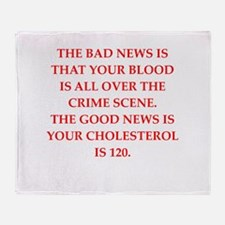 good news Throw Blanket