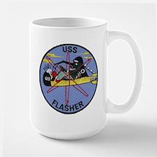 USS FLASHER Mugs