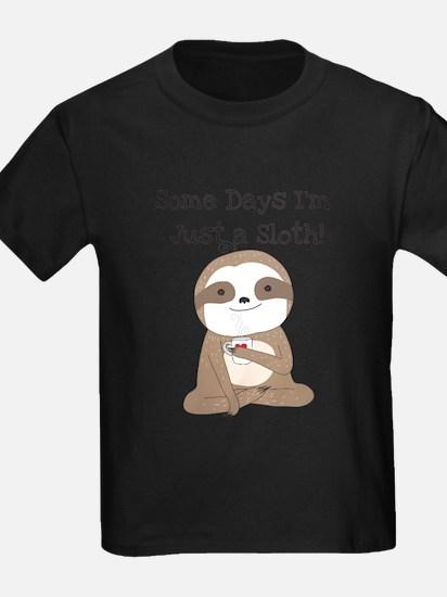Cute Just a Sloth T-Shirt