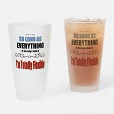 Funny Funny mom quotes Drinking Glass