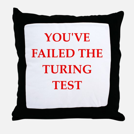 fail Throw Pillow