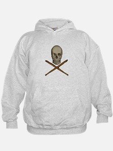 skull and stick bone Sweatshirt