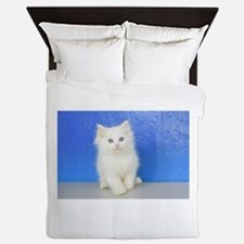 Joseph - Red Bicolor Ragdoll Kitten Queen Duvet