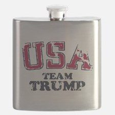 USA Team Trump Flask