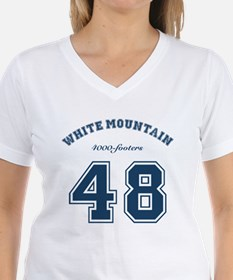 NH 4000 Footers White Mountain T-Shirt