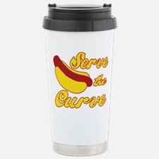 Cute Hot dog Travel Mug