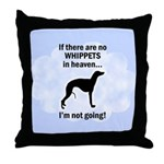 Whippets In Heaven Throw Pillow